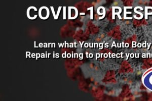 Young's Auto Body COVID-19 Response Graphic